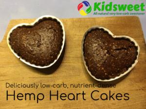 Chocolate Hemp Heart Cakes