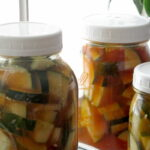 Korean-Style Pickled Cucumbers